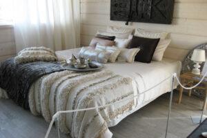 Näyttävä makuuhuone
