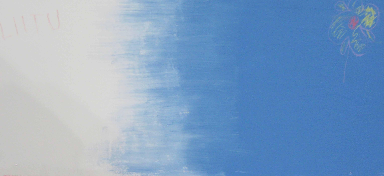 Liitu sininen