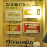Cassette wall-lamp by Tarmo Luisk