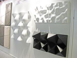 Mannerlaatta, 3D-uutuusseinäpaneeli