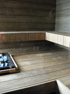 Wave minimalistinen sauna