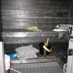 Kosteusturvatalon tumma sauna