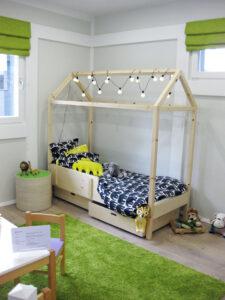 Villa Sukka lastenhuone