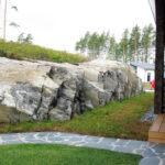 Upeaa kalliota